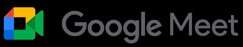FileGoogle Meet text logo 2020svg  Wikimedia Commons
