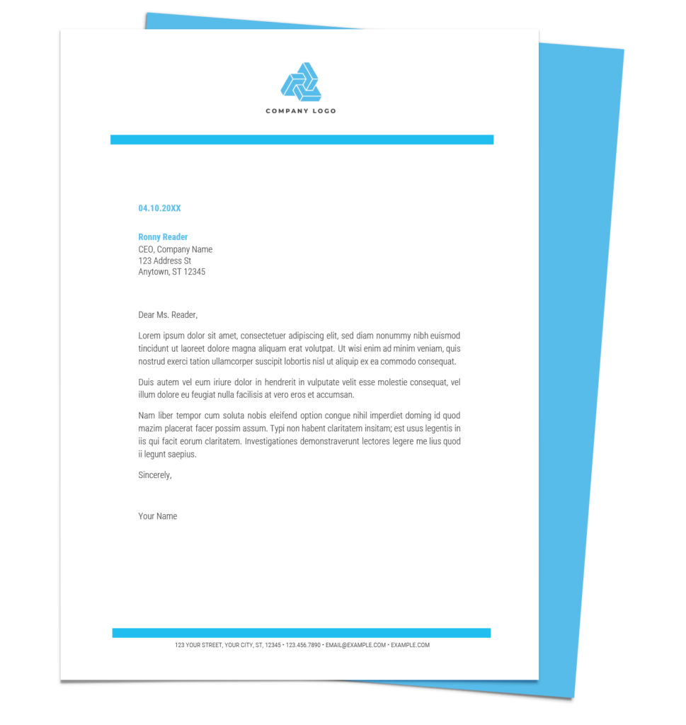 Free Letterhead Templates for Google Docs and Word