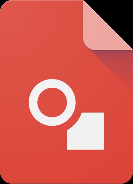 FileGoogle Drawings 2015 Logosvg  Wikimedia Commons