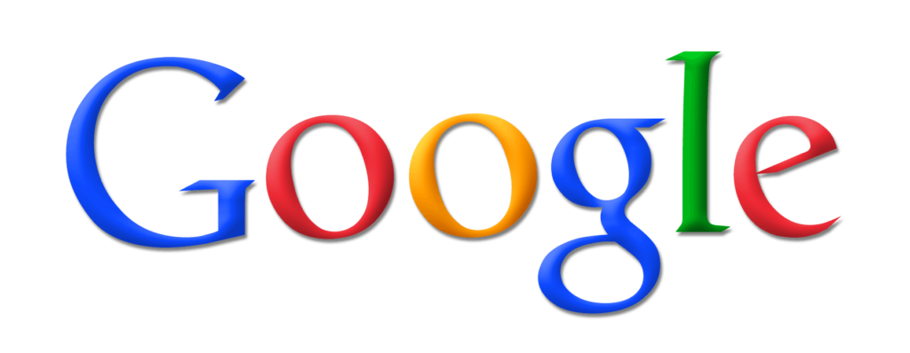 NEW Google Logo High resolution and high quality PNG