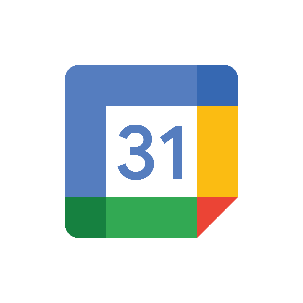 New Google Calendar vector logo EPS  SVG  Seeklogonet