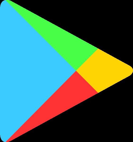 File:Google Play Arrow logo.svg - Wikimedia Commons - Google Play Logo Transparent