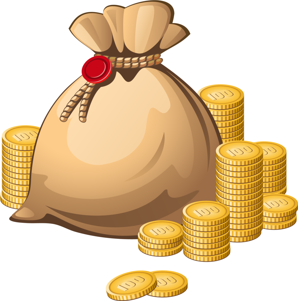 Coins clipart bag coin Picture 2527622 coins clipart bag