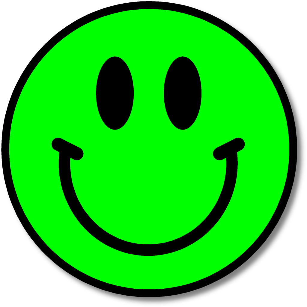Green Happy Face  ClipArt Best