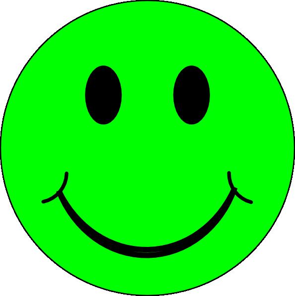 Happy Green Face Clip Art at Clkercom  vector clip art
