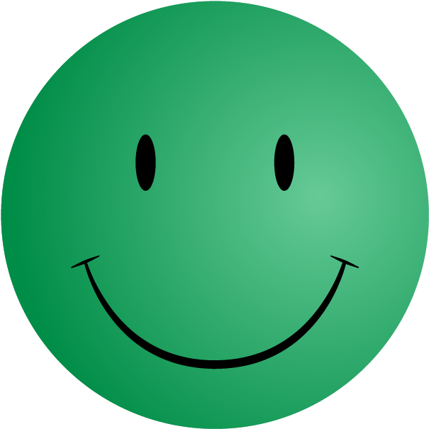 Download HD Green Smiley Face Png  Green Happy Face No