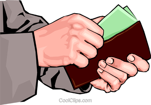 Cash clipart hand clipart Cash hand Transparent FREE for