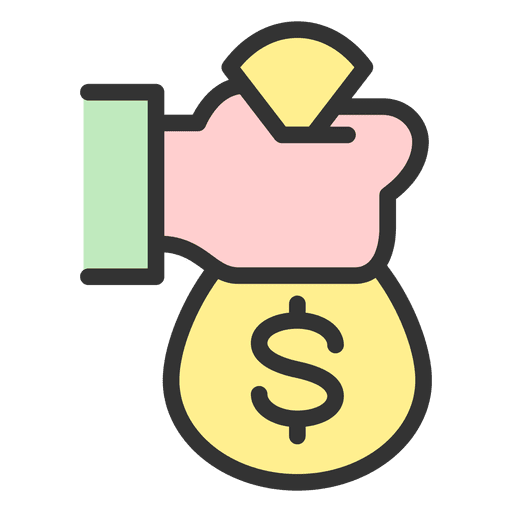 Money Bag Icon Png at GetDrawings  Free download