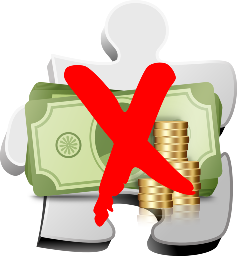 Library of someone holding money banner royalty free