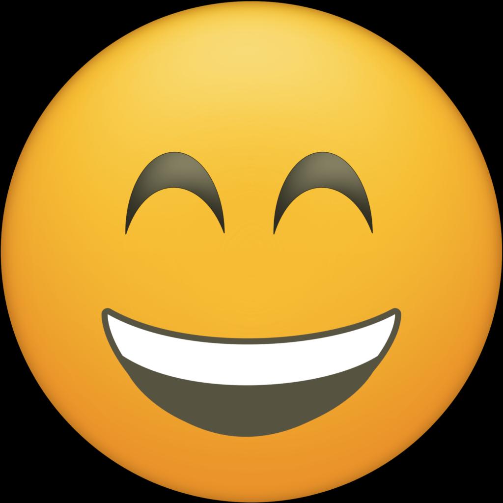 Blushing Happy Face Emoji Printable  Printable Emojis