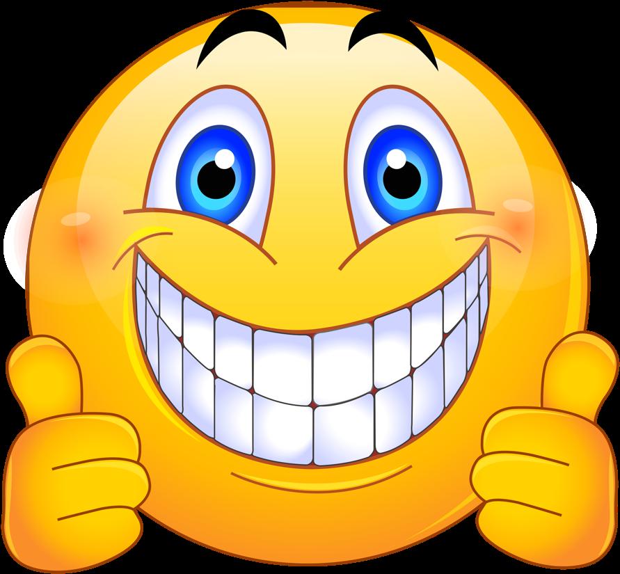 Emoji Feliz Png  Emoticon Smile Clipart  Full Size