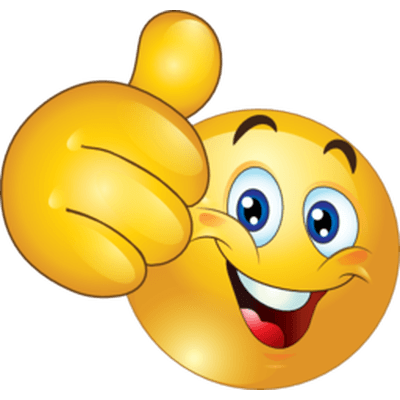 Emoticon Thumb Up transparent PNG  StickPNG