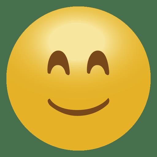 Happy smile emoji emoticon icon  Transparent PNG  SVG