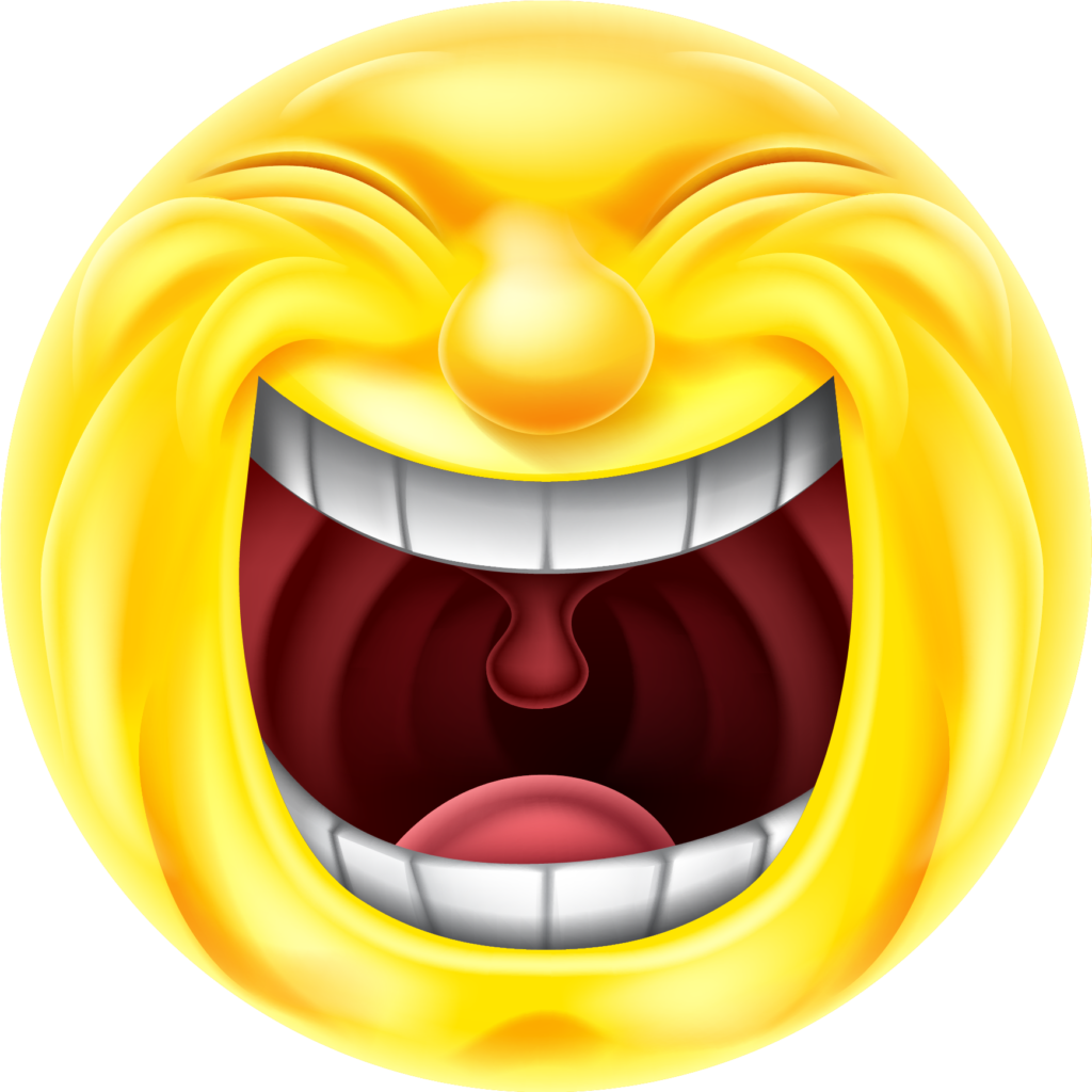 laughing emoji png transparent  Emoticon Smiley Laughter