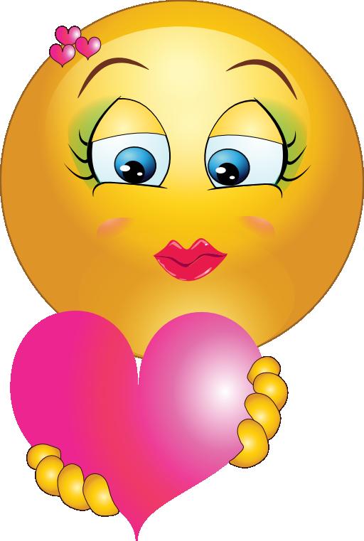 Cute Girl Smiley Faces  Smiley Heart Cute Cute girl heart
