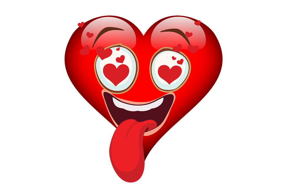Free photo Emoji Heart Love Valentines Day Emojicon