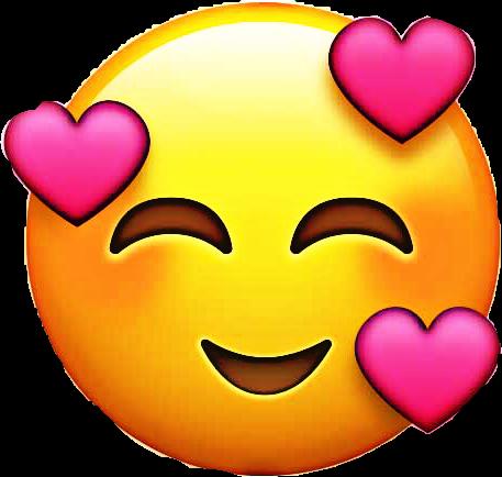 emoji happy love life lust happy ios12 adore heart hear