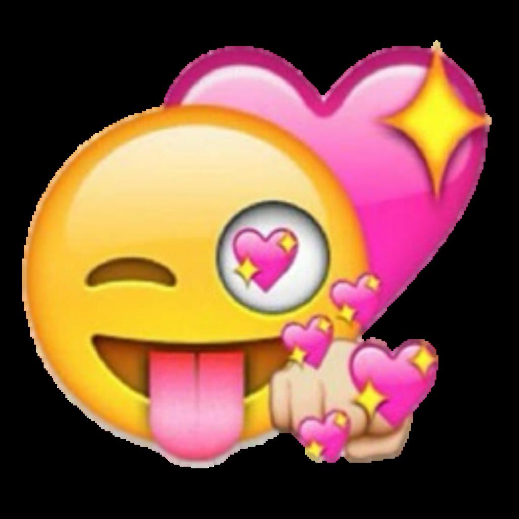 emoticons emoji heart happy