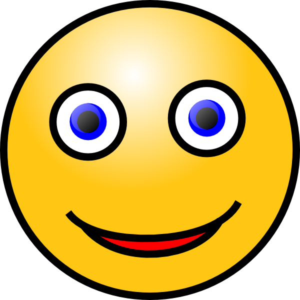 Smiley Face Clip Art at Clkercom  vector clip art online