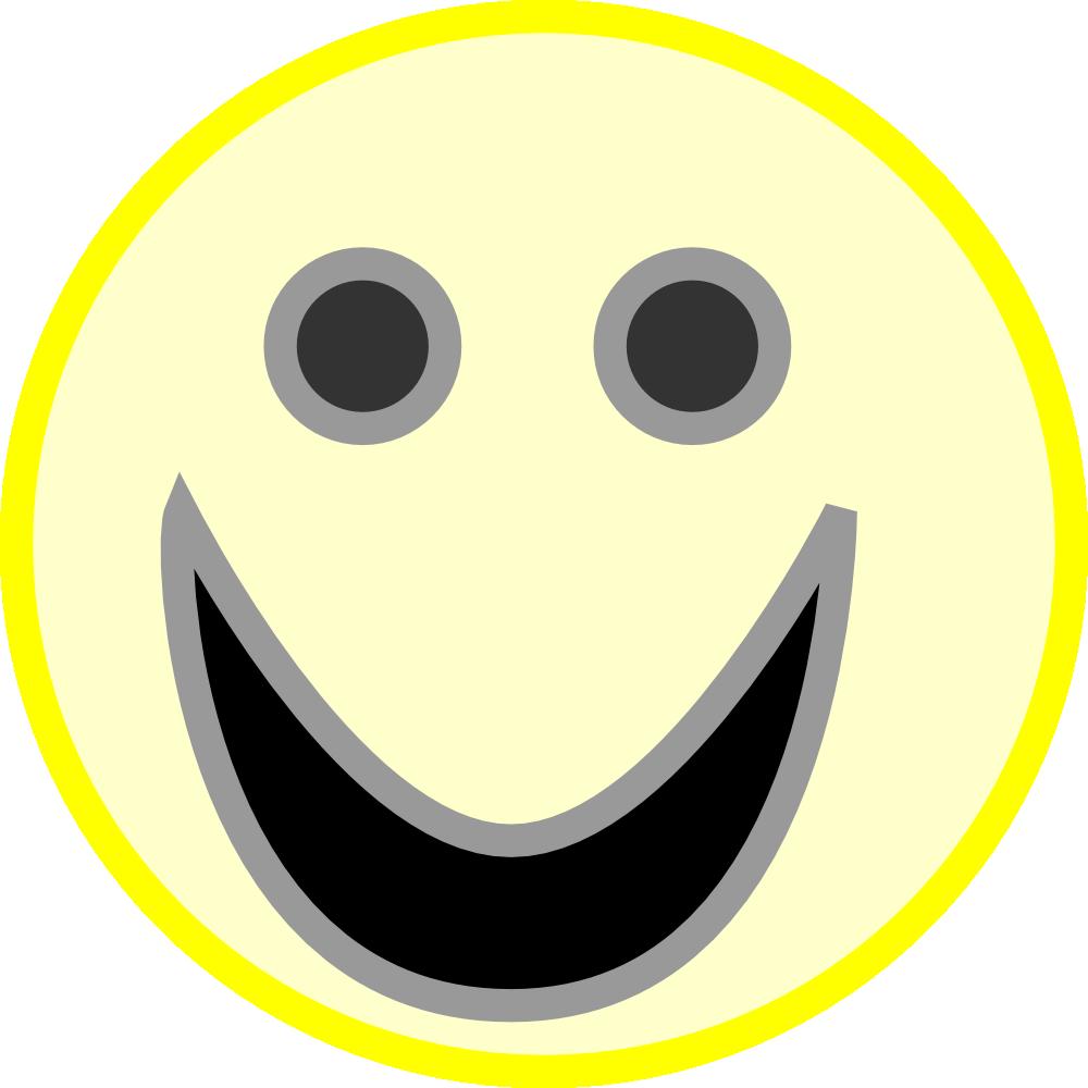 OnlineLabels Clip Art  Smiley Face