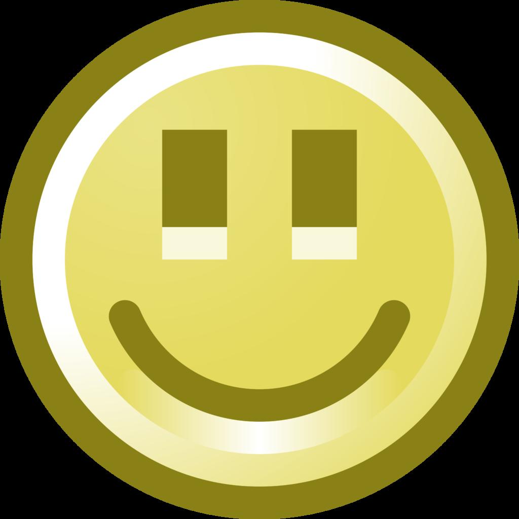 Free Smiling Smiley Face Clip Art Illustration