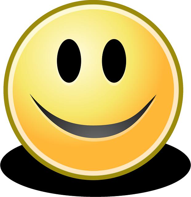 happy smile cartoon face vector  Free PSDVectorIcons