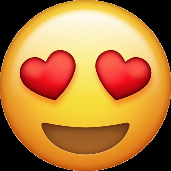 Emoji Heart iPhone Love  emoji png download  600600
