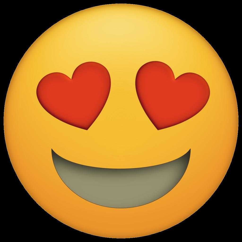 Heart Eyes Emoji Clipart at GetDrawings  Free download