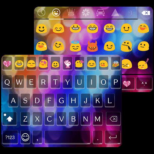 Amazoncom Multi Color Love Emoji Keyboard Appstore for