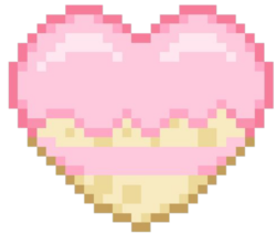 Pancakepixelheart  Discord Emoji