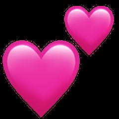 Discover trending love stickers  Heart emoji Pink heart