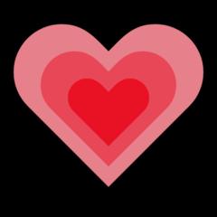 Growing Heart Emoji