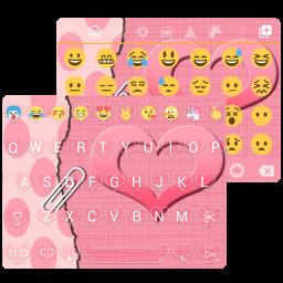 دانلود برنامه Love Heart Emoji Keyboard برای اندروید  مایکت