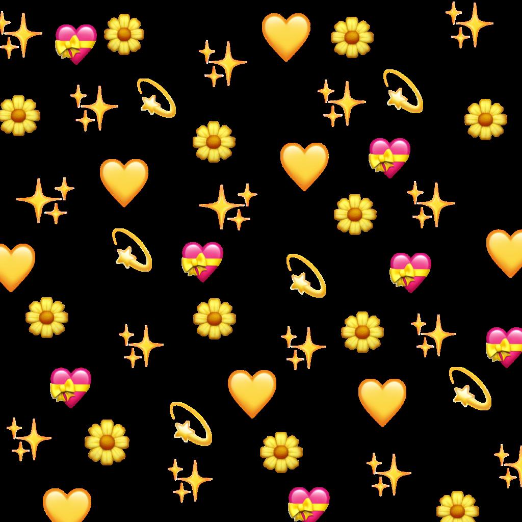 yellow wholesome wholesomememe heart heartemoji emoji