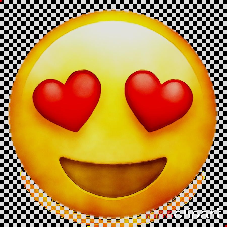 28 Transparent Background Heart Eyes Emoji Png