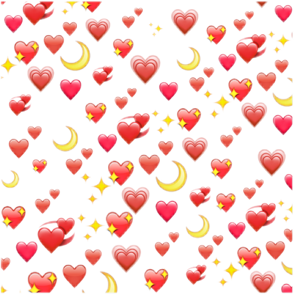 24 Heart Emoji Meme Transparent Wholesome Png