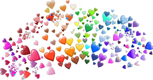 heart coração emoji meme