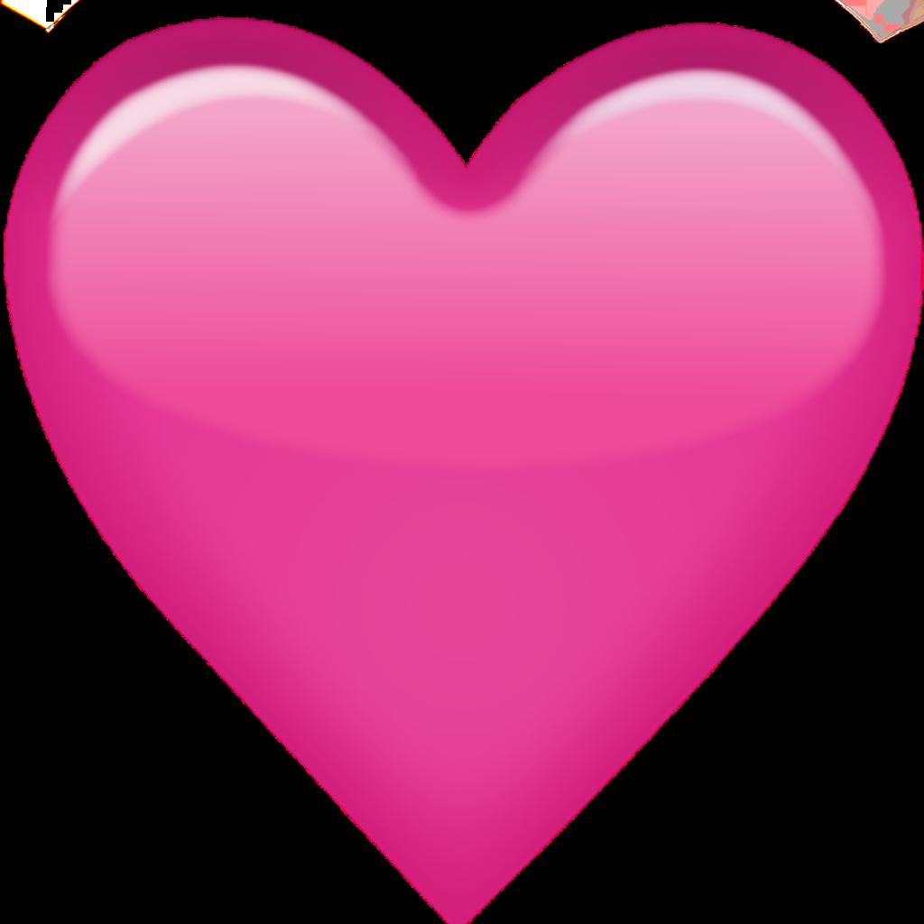 pink heart emoji love  Sticker by Tikku