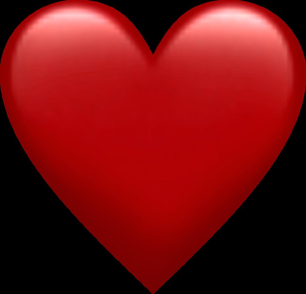 Download Red Heart Emoji Png  Heart Vector Png PNG Image