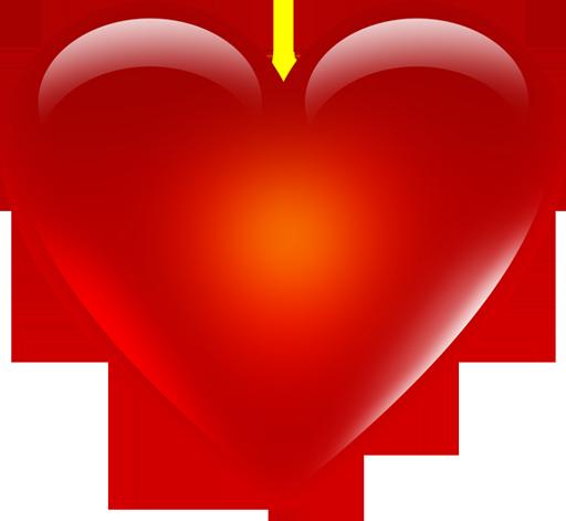 Cute Emoji Heart Png Transparent