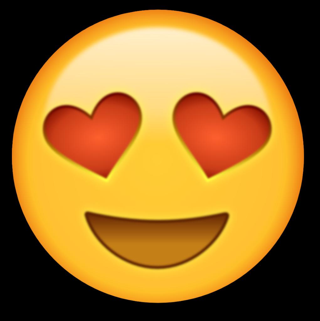 14 Emojis Icons Vector Images  Heart Eyes Emoji Emoji