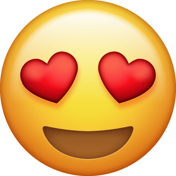 Heart Eyes Emoji Download iPhone Emojis  Emoji Island