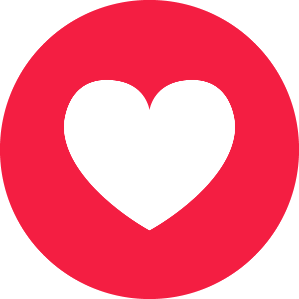 Facebook Heart   Vector Images Icon Sign And Symbols
