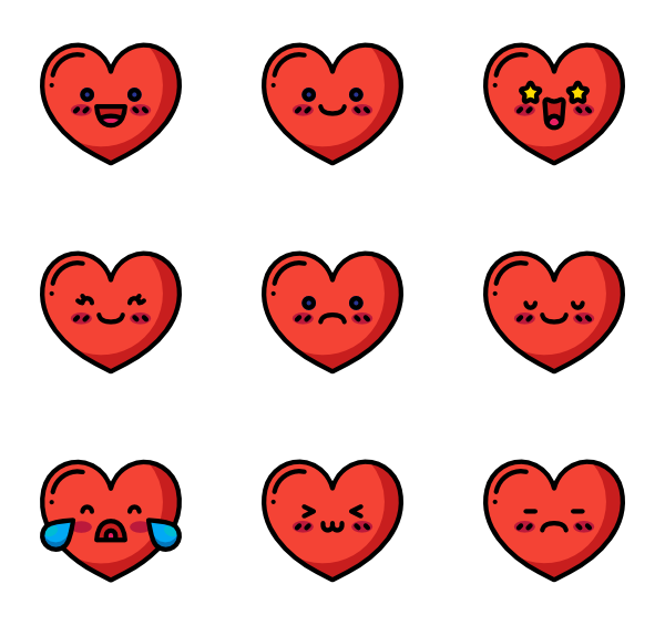 148 emoji icon packs  Vector icon packs  SVG PSD PNG