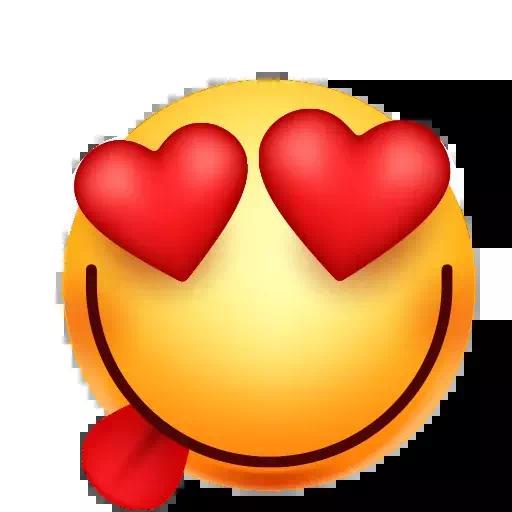 Heart Eyes Emoji PNG Images Transparent Free Download