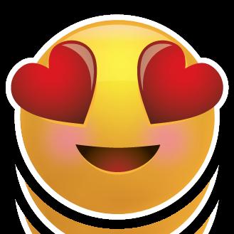 heart eyes emoji transparent Our favorite model of  Emoji