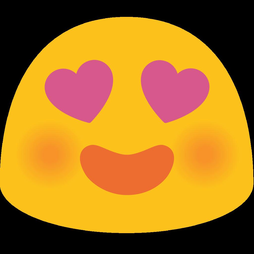 transparent heart emoji