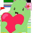 beanhearthug  Discord Emoji
