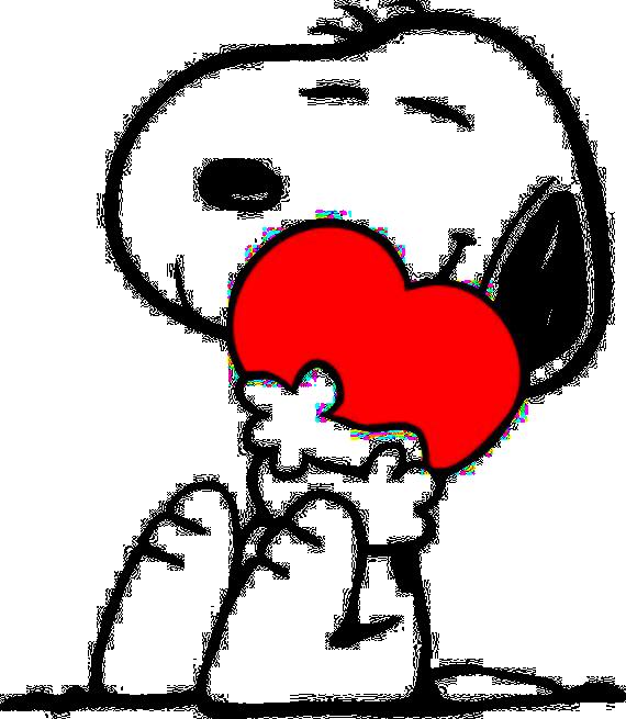 Snoopy Hug Heart by BradSnoopy97 on DeviantArt
