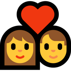 Couple With Heart Emoji  Meaning Copy  Paste